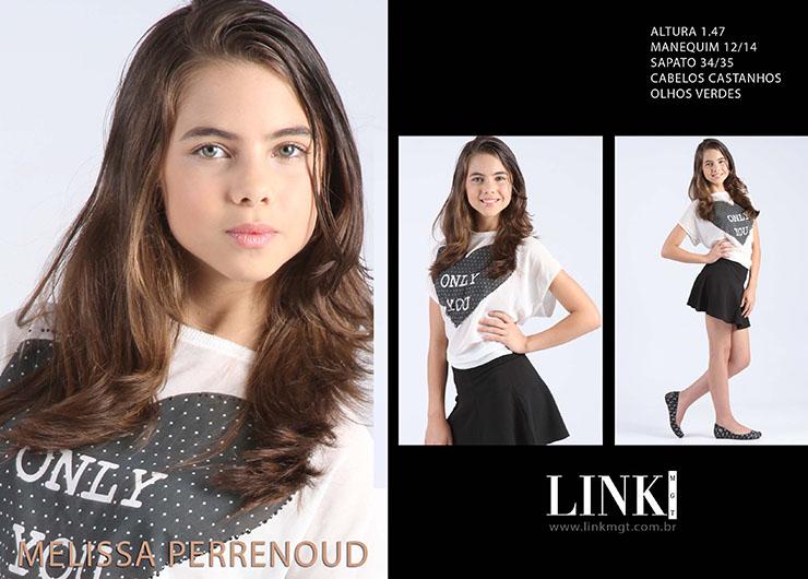 Modelo Melissa Perrenoud aprovada pela Vide Bula