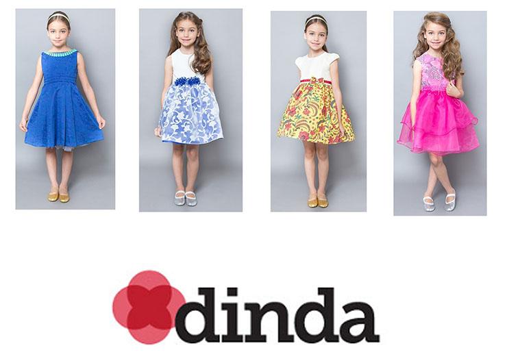 Giulia Zaranelli aprovada pela marca DINDA
