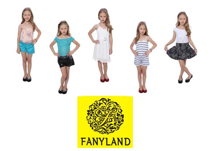 Modelo Nicolly Mancino na campanha da marca FanyLand para Privalia.