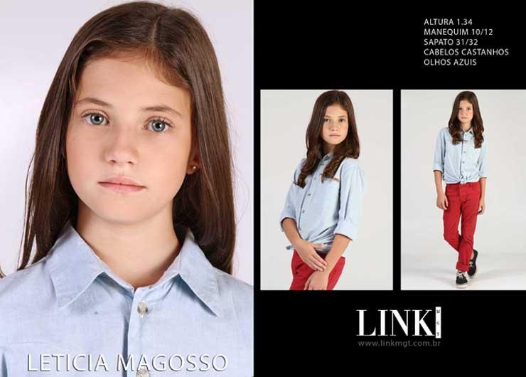 Modelo Leticia Magosso na campanha da marca FanyLand para Privalia.