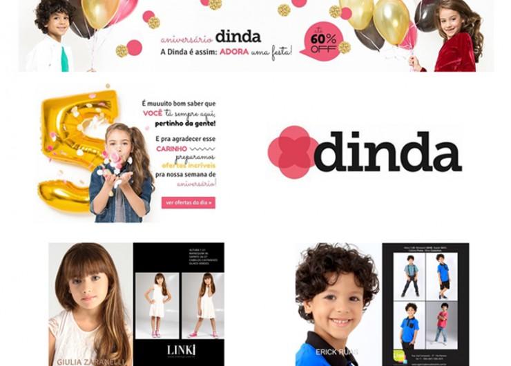 Erick Ruas e Giulia Zaranelli aprovados pela marca DINDA