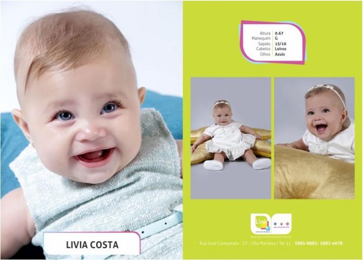 Modelo Link na campanha da Petit Lavie