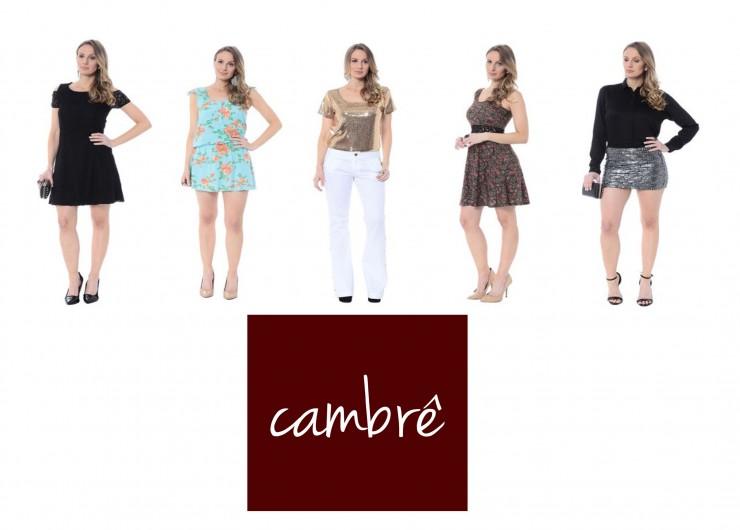 Gaia Tornquist na campanha da marca Cambrê