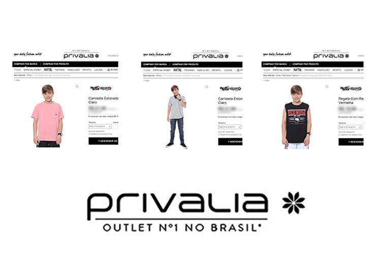 Modelo Leonardo Iacobelli aprovado pela marca Privalia